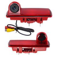 Guide Line 8 Pcs LED Lamp HD Night Vision Third Brake Light Reverse Backup Camera For 2014 Opel Vivaro / Renault Trafic PZ463