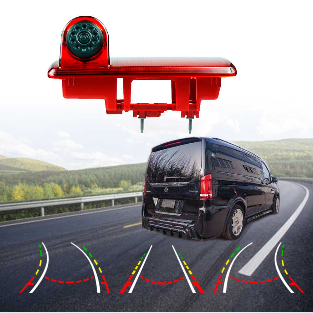 Universal Cargo Van 3rd Brake Light Rear View Camera Reversing Backup Camera