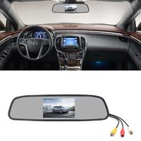 4.3 Inch Car Rearview Mirror Monitor PZ705
