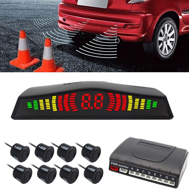 Vehicles Truck Color : Silver Dibiao Professional 4PCs Automotive Car Reverse Radar Sensor Probes Safety Driving Parking Reversing Backup Assist Parts for Car
