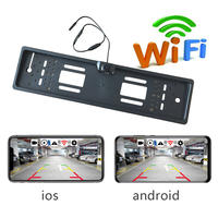 Wholesale Europe Car Licence Plate Parking Sensors Car Auto Vehicle EU Rear Wifi Camera PZ421-A